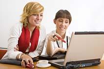 Female teamwork